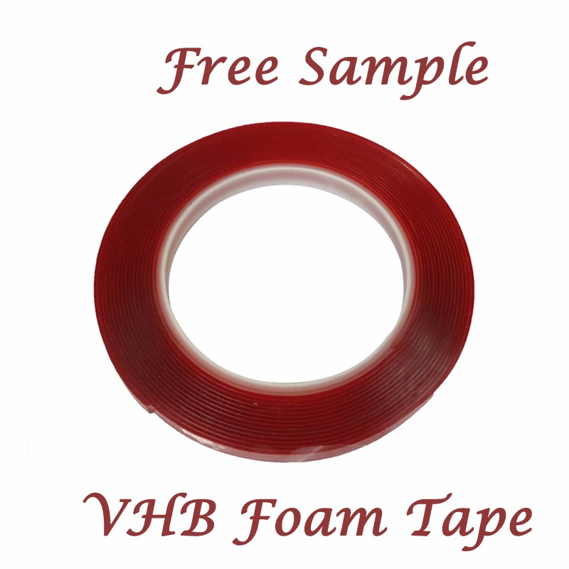 0.5mm* 25mm*33m grey VHB tape double sided foam tape