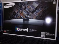 DISCOUNT FOR NEW SAMSG Curved 55-Inch 4K Ultra HD 3D Smart LED TV