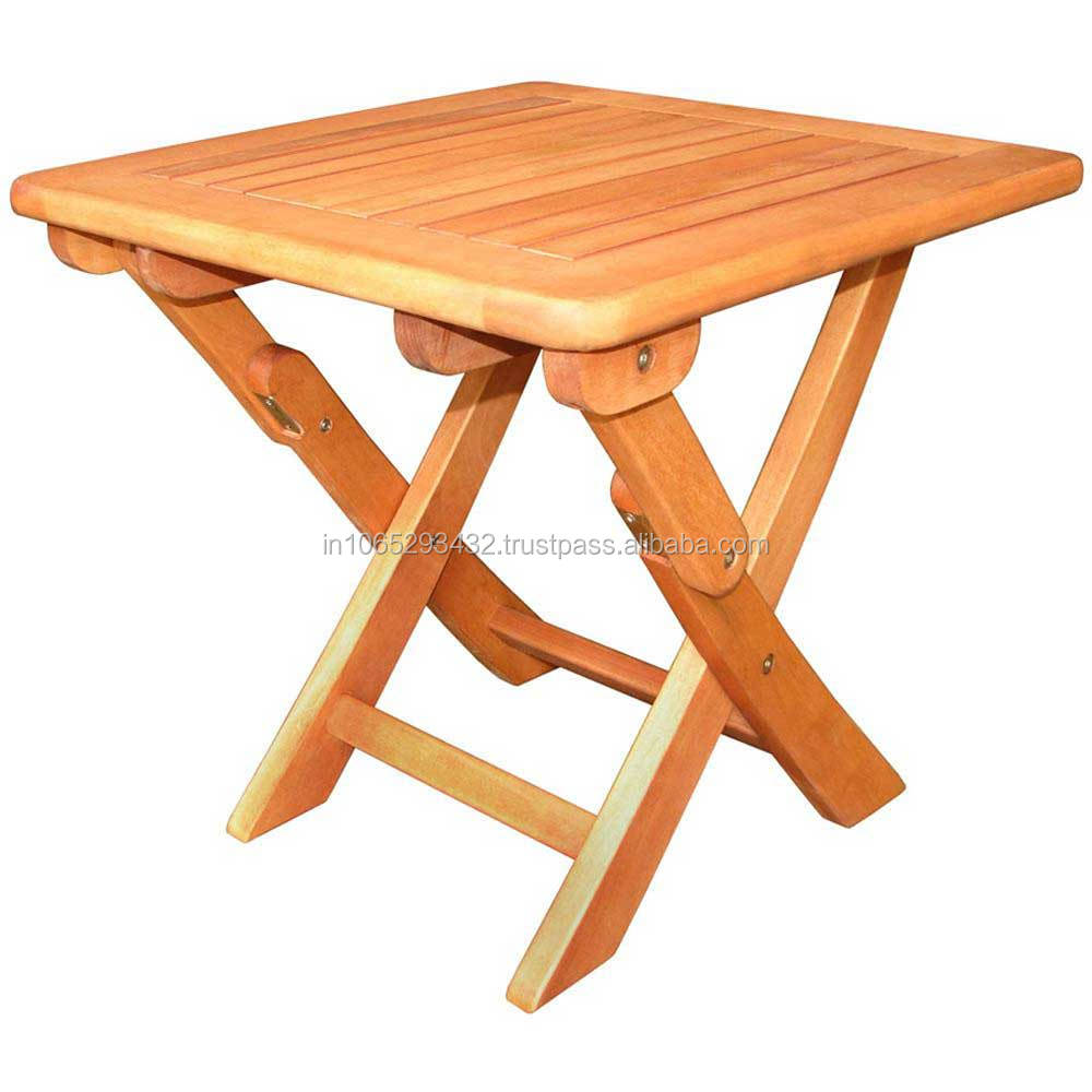 TEAK WOODEN FOLDING TABLE