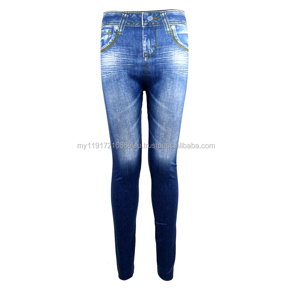 Zynelle Korean Classic Jeans Jeggings Ladies Slim Leggings
