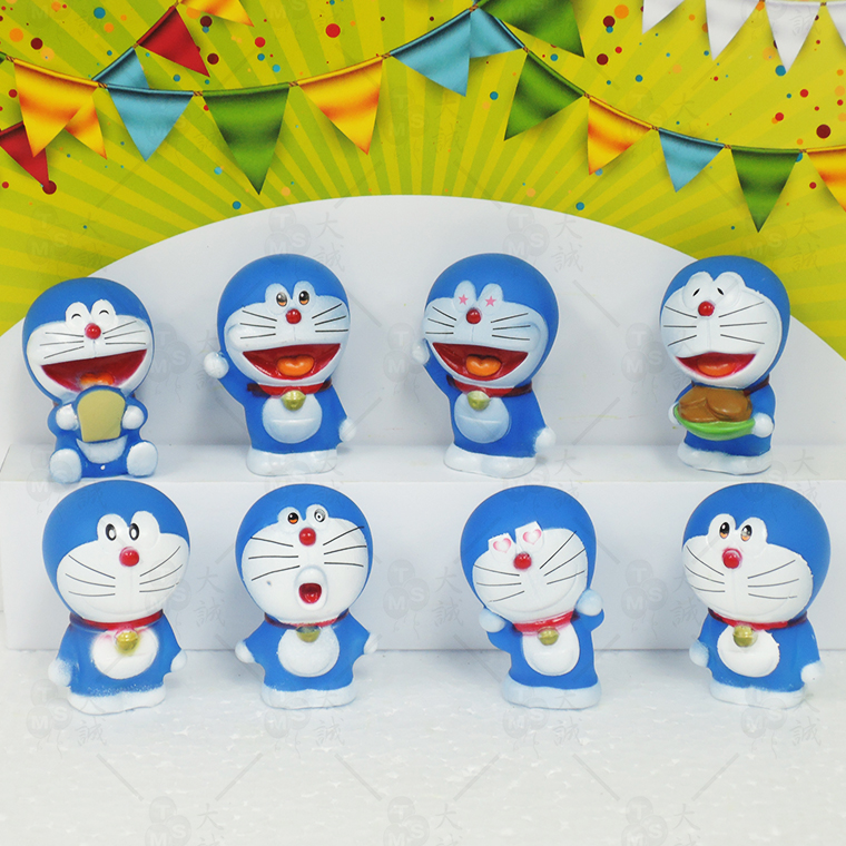 Cake Decoration Doraemon11 8pcs