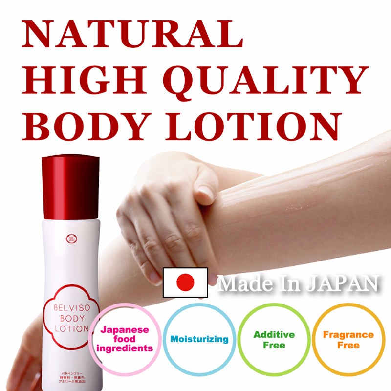 Belviso highly moisturizing and High quality skin whitening lotion body lotion for dry skin