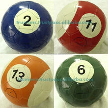 Poolballs Snookballs - Combination of Snooker and Football
