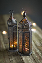 Indian Moroccan Decorative Metal Candle Lantern,Moroccan Style Glass Lantern,Large Moroccan LanternLarge Moroccan Lantern