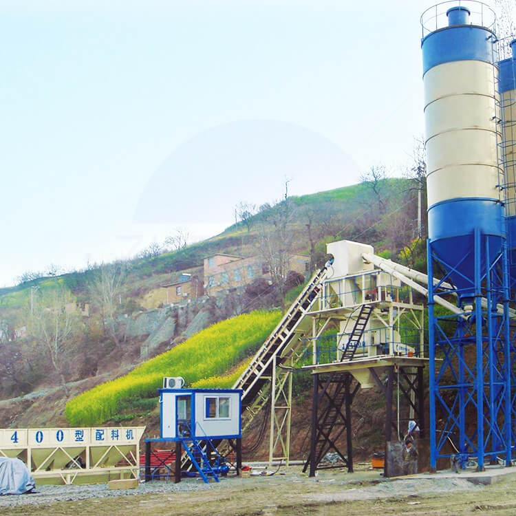 HZS25 25m3/h Ready Mix Concrete Batching Plant Supplier