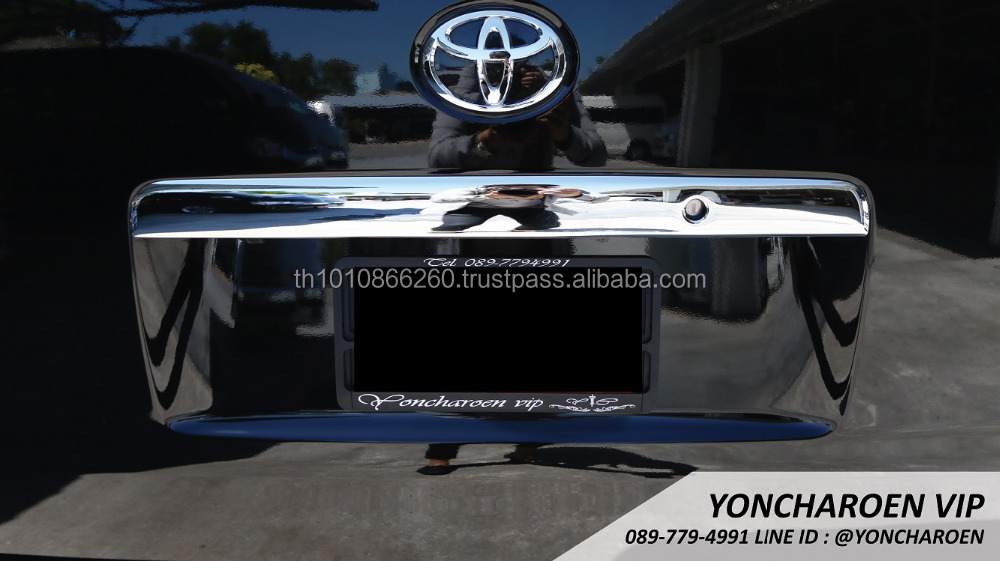 TOYOTA Hiace Rear Door Handle Crome Cover
