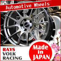 Various colors of aluminum RAYS VOLK RACING wheels auto parts Japan car