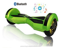 8inch fashion and smart electric scooter, self-balance scooter with bluetooth remote control