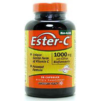 Ester-c With Citrus Bioflavonoids, 1000 mg, 90 Vegitabs by American Health
