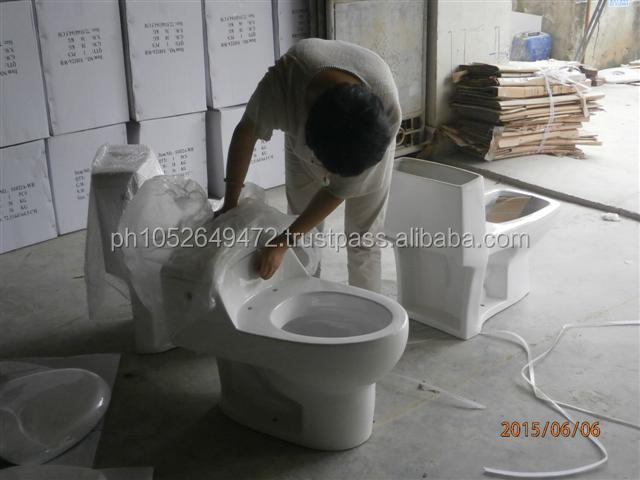 Western Toilet Bowl / Western Pottery Pre-Shipment Inspection in China