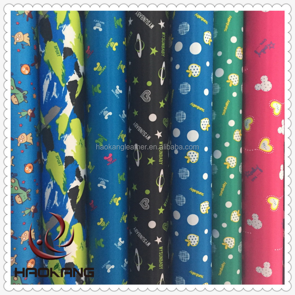 Soft pvc coating 400d printing fabric / printed fabric / fabric text