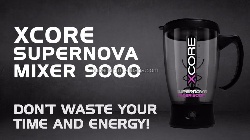 Extreme Tornado Mixer Electric protein shaker blender water bottle automatic movement vortex tornado BPA FREE