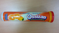 Effervescent tablet OSSIZAN MULTI multivitamins and minerals