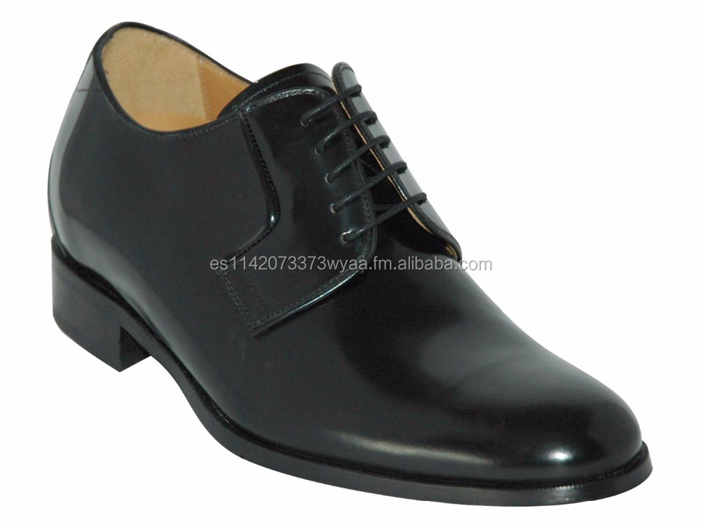 TOLEDO, Mens height increasing and elevator shoes. Made in Spain and Italy