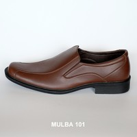Mulba 101 - Brown PU Leather Men Formal Shoes