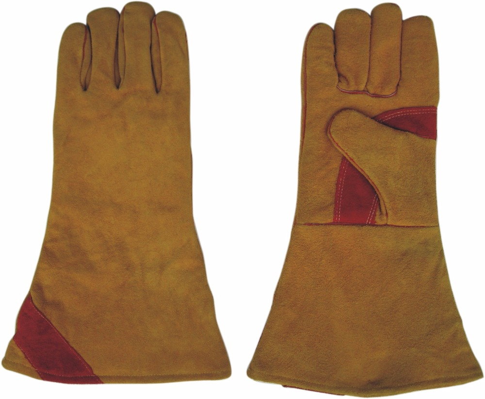 Cow Split Leather Work Gloves