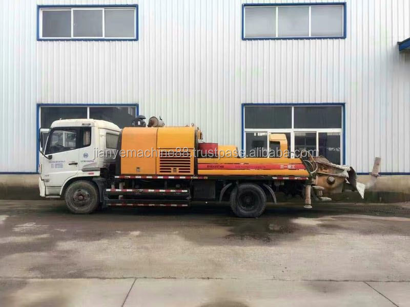 Used Truck-Mounted Concrete Line Pump