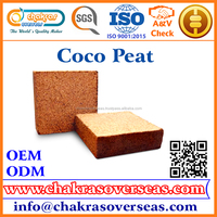 100% Natural High Quality Coco Peat / Coir Pith Manufacturer, Suppliers, Exporters.