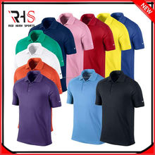 Camisa de Golf/Dri fit camisas de polo al por mayor/Polo camisetas al por mayor