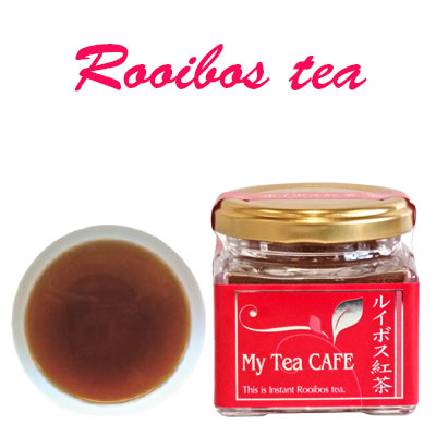 High quality Japanese Instant Rooibos tea, tea powder Rooibos, made in Japan