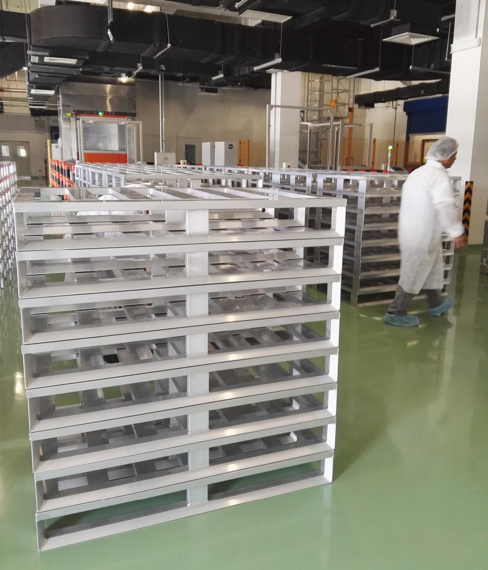 Aluminum Environmental Pallet
