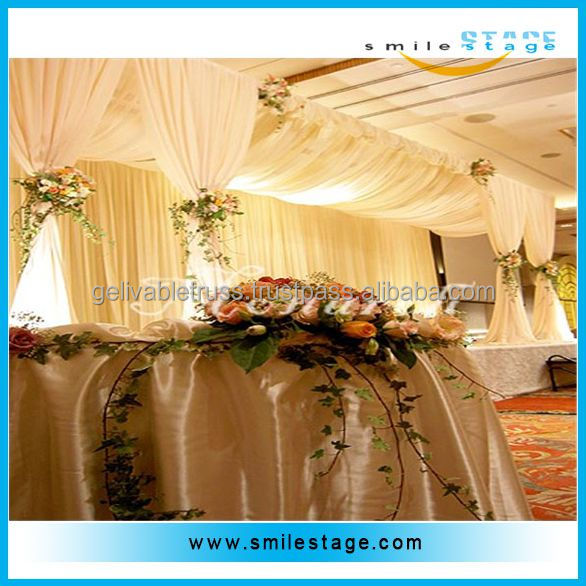 wedding backdrop frame aluminum backdrop stand pipe for wedding
