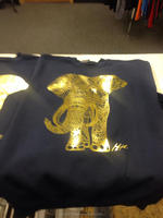 Custom Gold foil printed T shirts (Ks - 321)