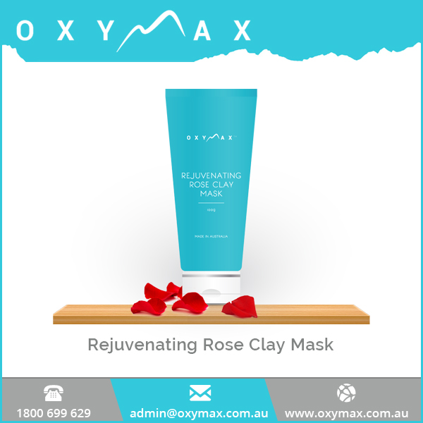 Skin Rejuvenating Clay Mask with Rose and Other Essential Oils Available at Wholesale Price