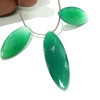 Natural Green Onyx Gemstone Faceted Marquise