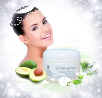 Greenplex Avocado and Hyaluronic Acid Facial Cream