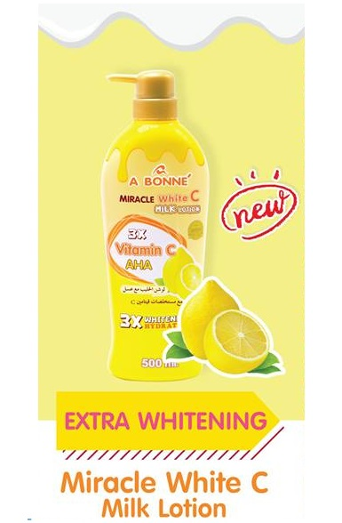 A Bonne Miracle White C 3X Vitamin C Extra Whitenign Lotion 500ml