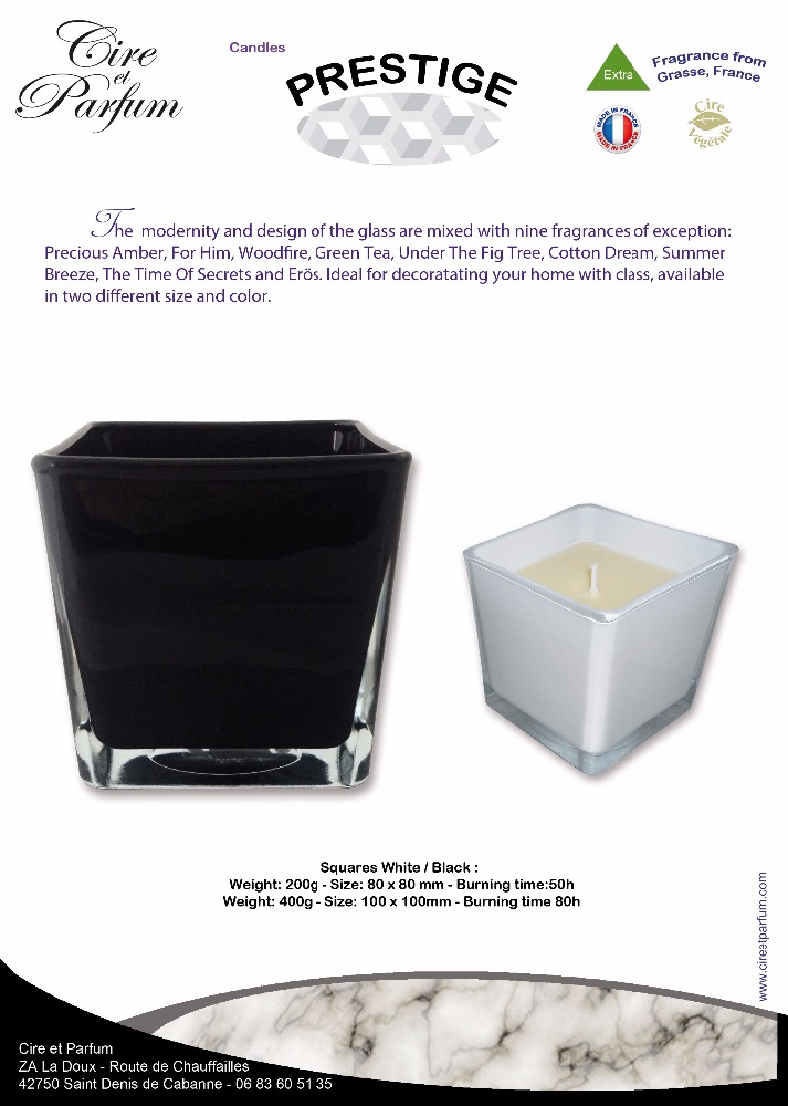 Prestige Candle