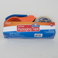 TAPE PACKAGING SET ELMERS 2 ROLLS TAPE AND 1 DISPENSER #45104