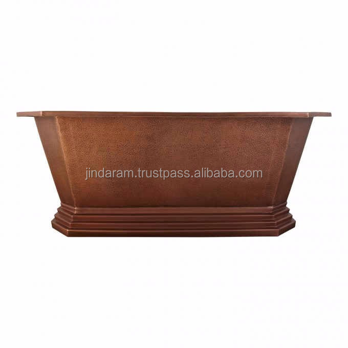 Modern Copper Bathroom Tub