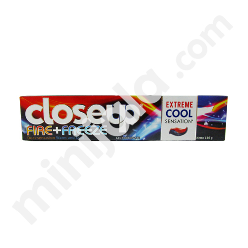 Close Up Fire Freeze Toothpaste with Indonesia origin