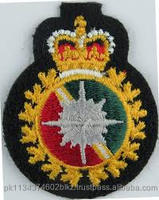 Military embroidery badges