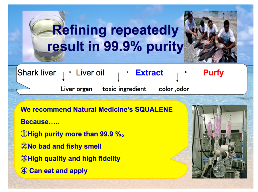 Popular and Japanese squalene fish oil softgel supplement with multiple functions made in Japan