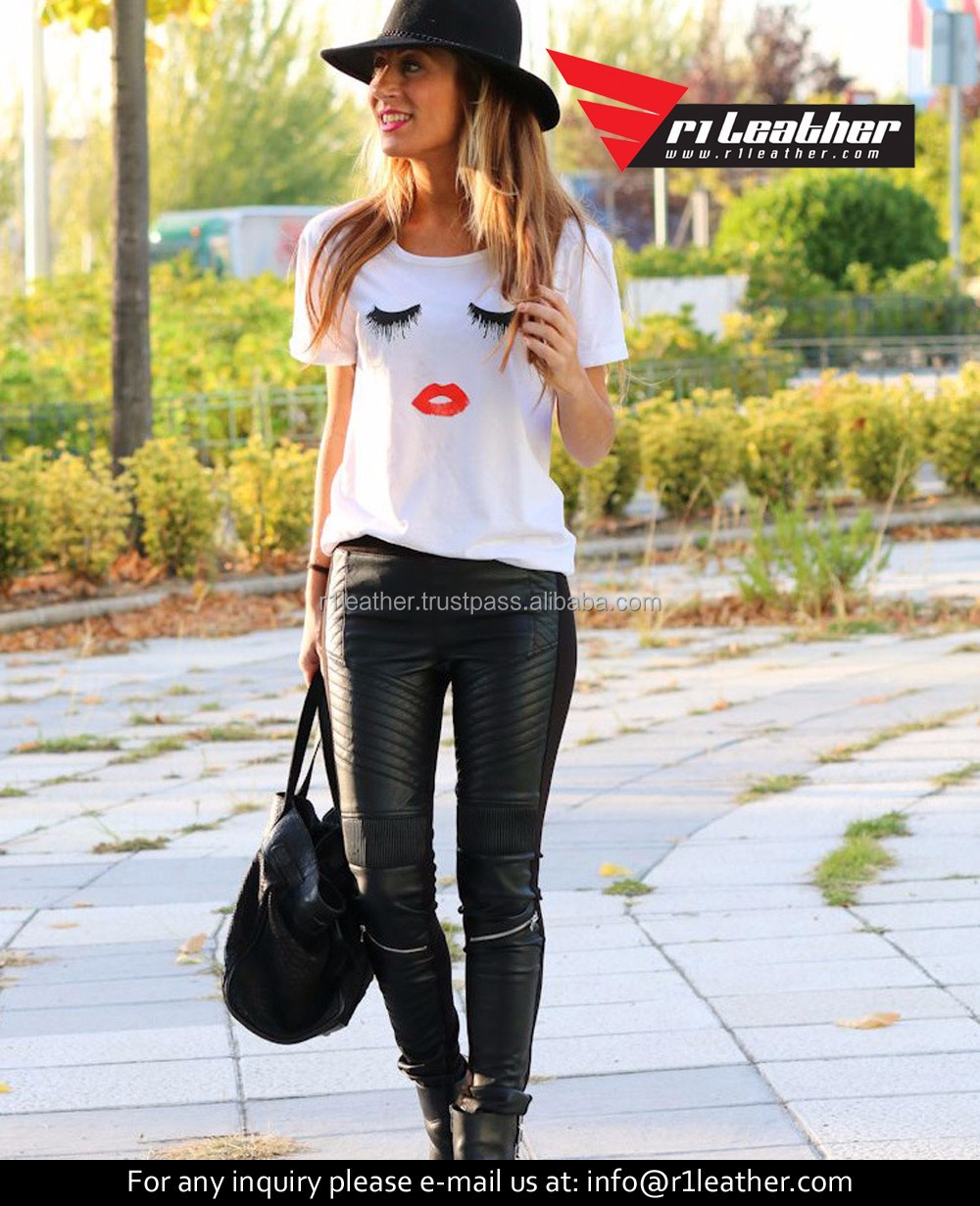 Cheap custom women causal slim fit v-neck t shirt lady embroidered shirt