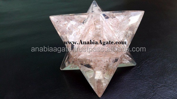 Orgone Healing Star : Small Size Orgone Merkaba Star : Wholesale Orgone Star From India