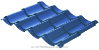 Metal Tile Roof - Roofseal Euro762