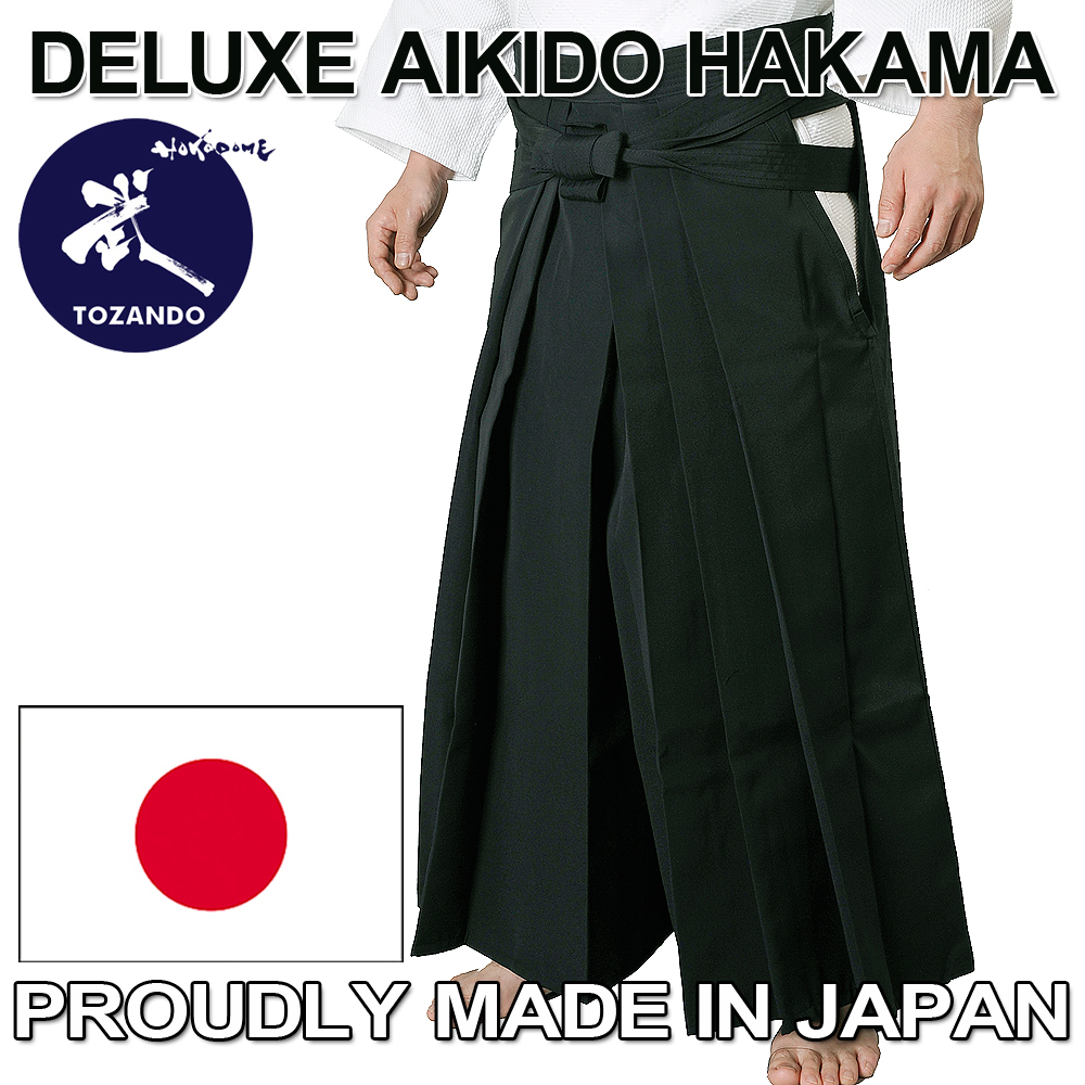 Fashionable and Traditional Aikido Hakama made in japan for practice and demonstration, Distributor Wanted