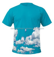 Sublimation t shirts, New Customize 100% Polyester Sublimation Shirts for Mens & Women