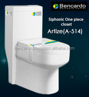 Siphonic One Piece closet - One Piece Toilet - Tornido Flushing- Sanitary ware - Toilet - A-514