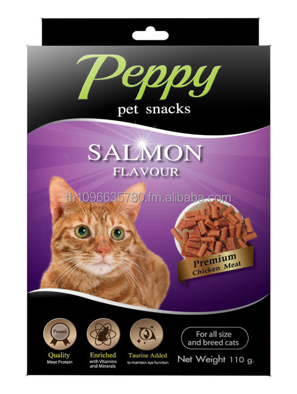 Peppy Pet Snack - Cat snack - Salmon Flavour
