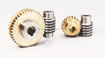 Worm gear pair Module 3.0 Made in Japan KG STOCK GEARS