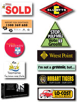 Wall Sticker Car Decor Printing Vinyl Label Laser Sticker