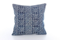 Beautiful Plain Hmong Batik Cushion Cover from Thailand