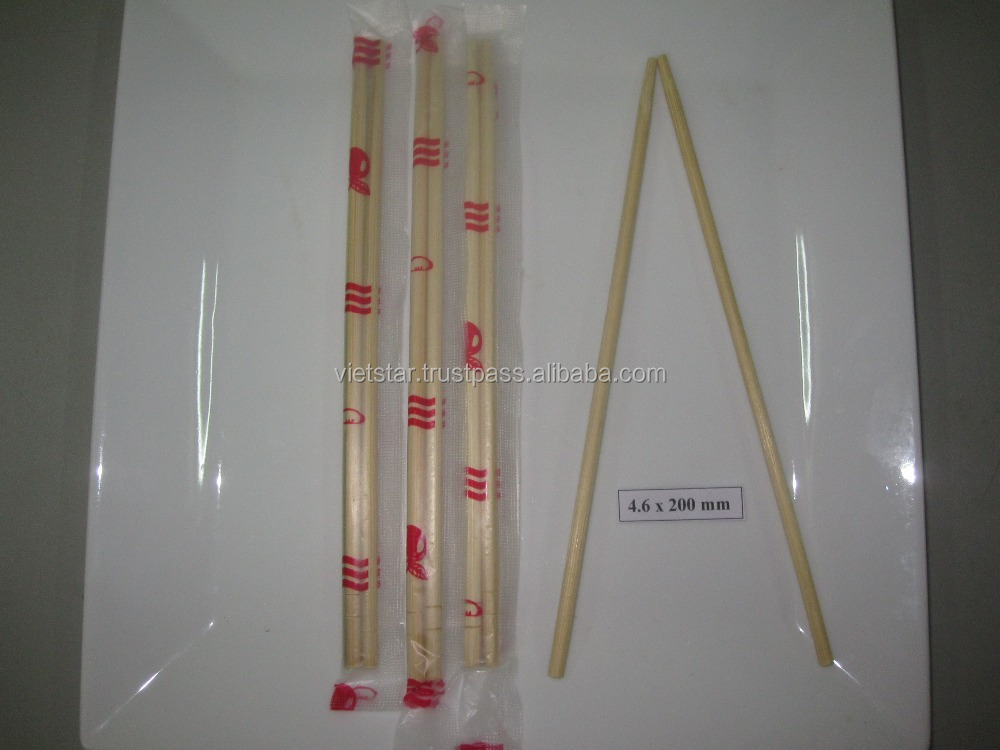 Bamboo chopsticks eye-catching cover