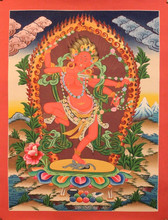 High Quality Kurkulla Thangka Tibetan Nepal