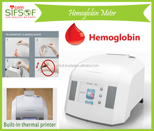 Hemoglobin A1c (HbA1c) Test Meter, for Diabetes with Embedded Thermal Printer, SIFHB-1.1